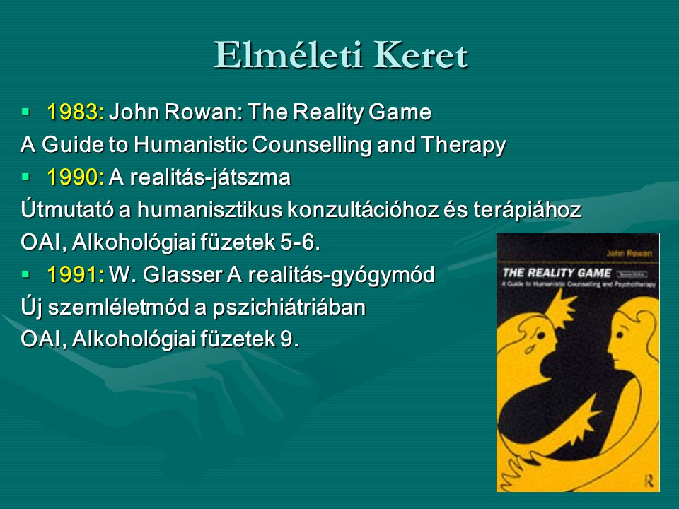 Elméleti Keret 1983: John Rowan: The Reality Game