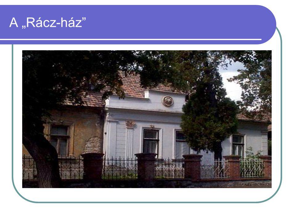 """A """"Rácz-ház"""