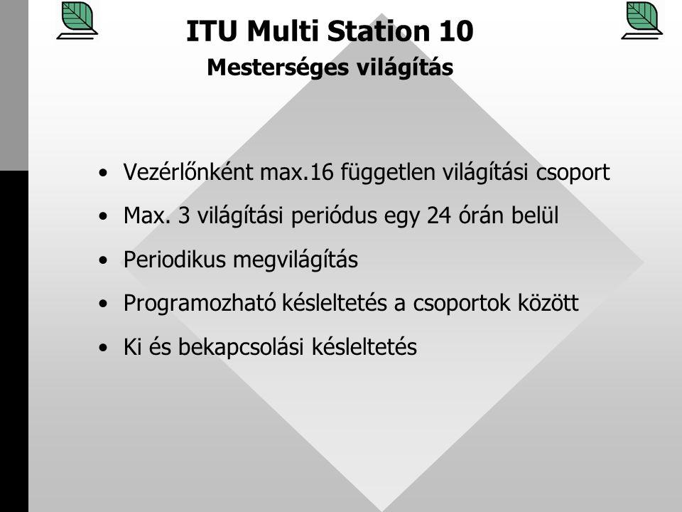 ITU Multi Station 10 Mesterséges világítás