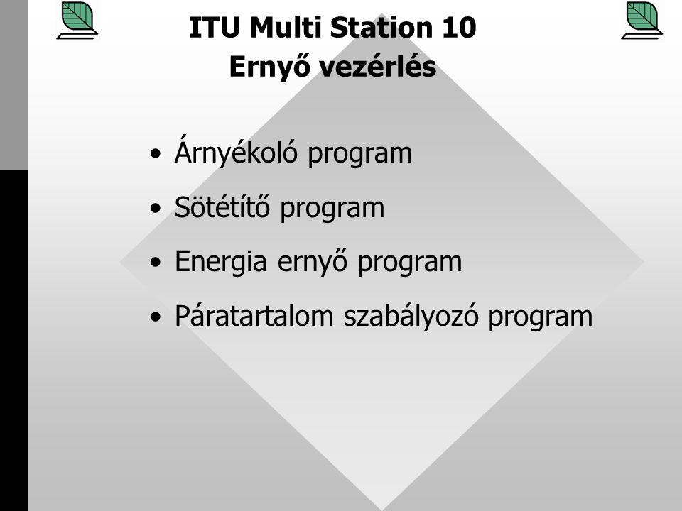 ITU Multi Station 10 Ernyő vezérlés