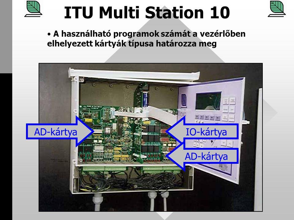 ITU Multi Station 10 AD-kártya IO-kártya AD-kártya