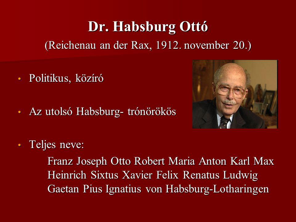 (Reichenau an der Rax, 1912. november 20.)