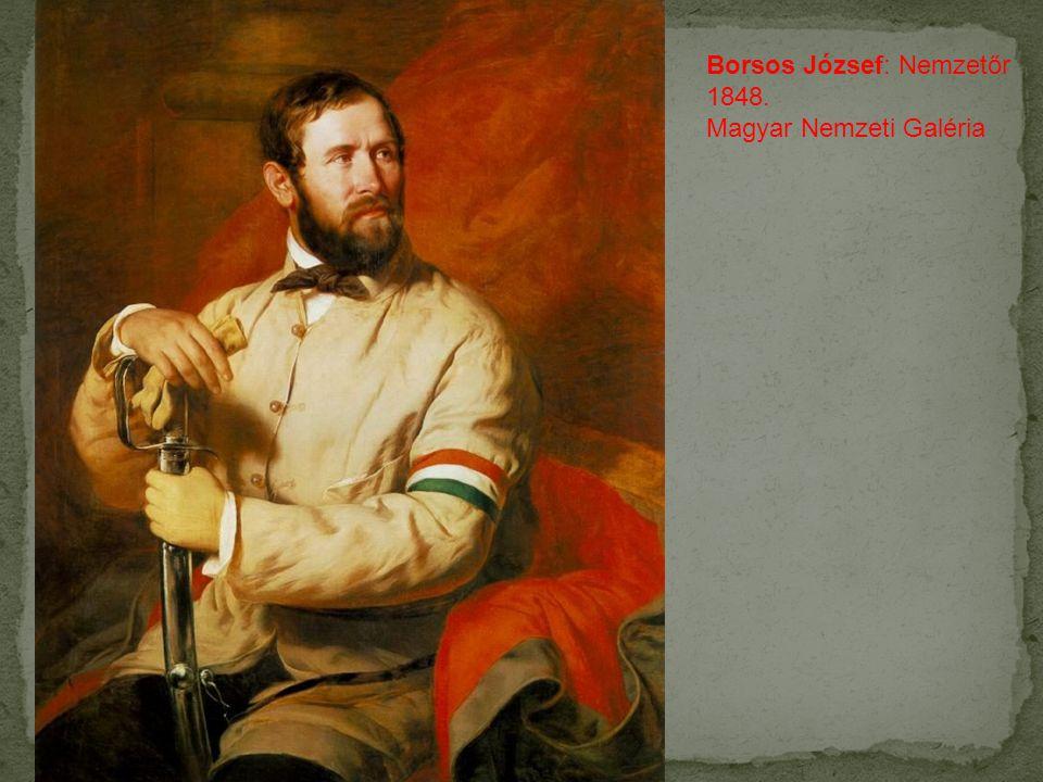 Borsos József: Nemzetőr