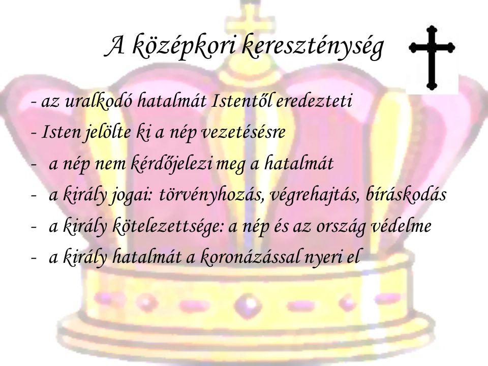 A középkori kereszténység