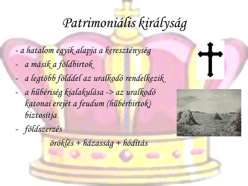 Patrimoniális királyság