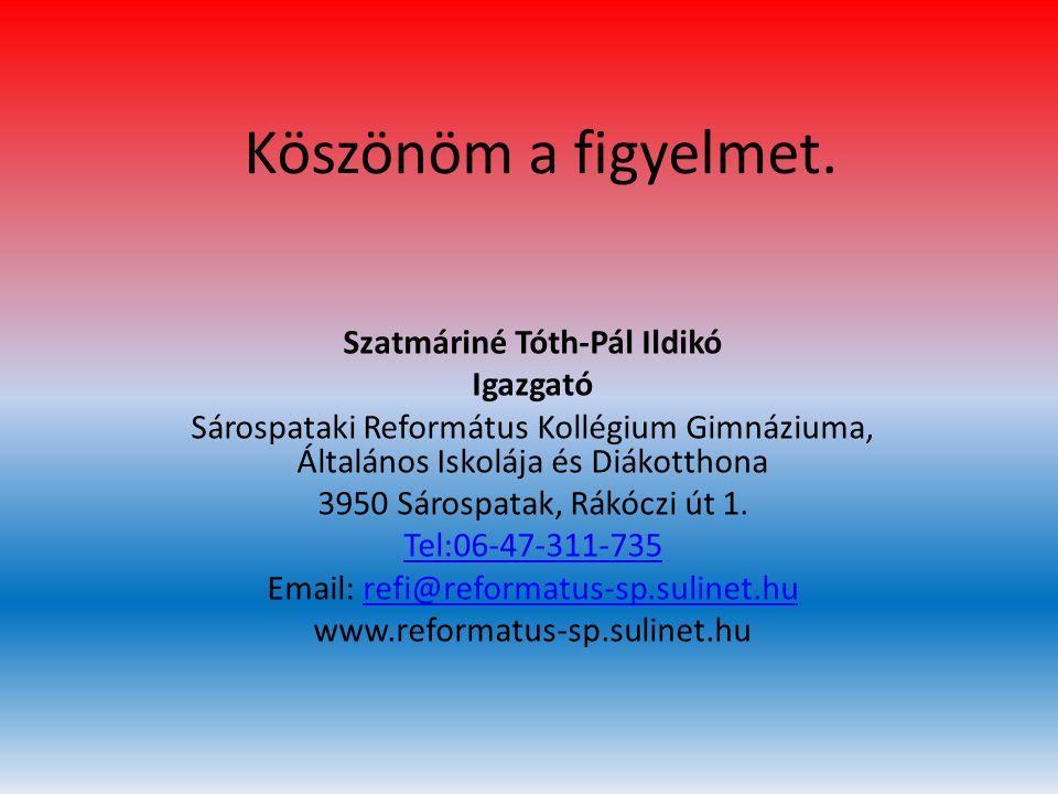Szatmáriné Tóth-Pál Ildikó