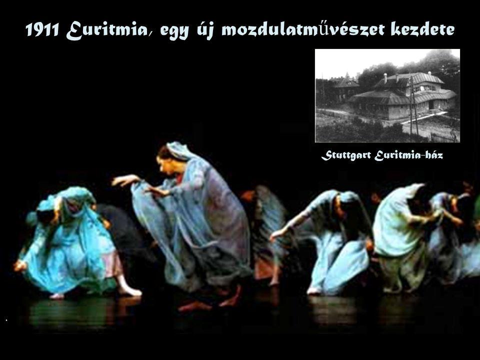 1911 Euritmia, egy új mozdulatművészet kezdete