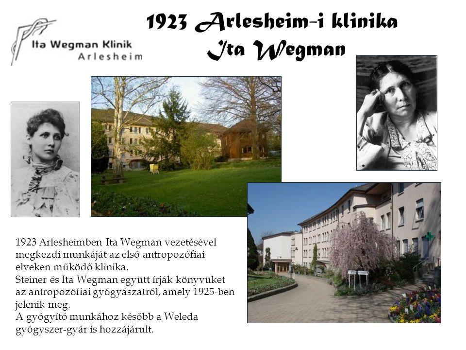 1923 Arlesheim-i klinika Ita Wegman