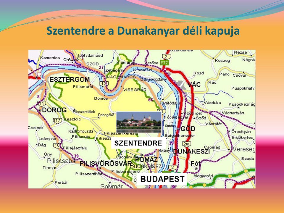 Szentendre a Dunakanyar déli kapuja