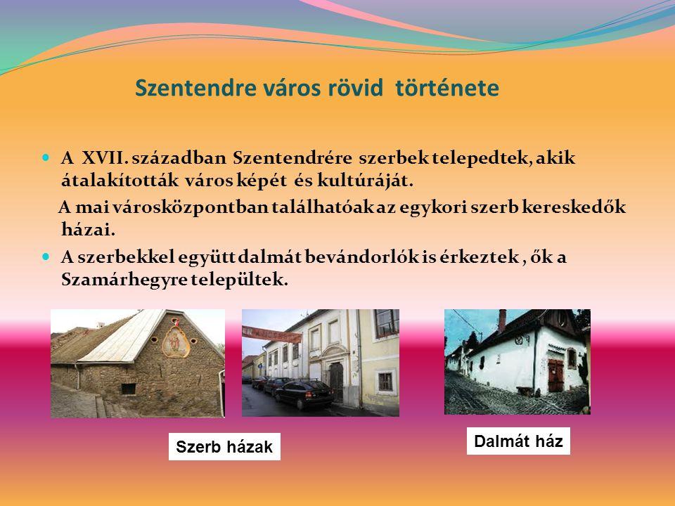 Szentendre város rövid története