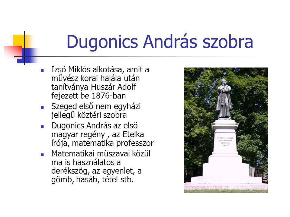 Dugonics András szobra