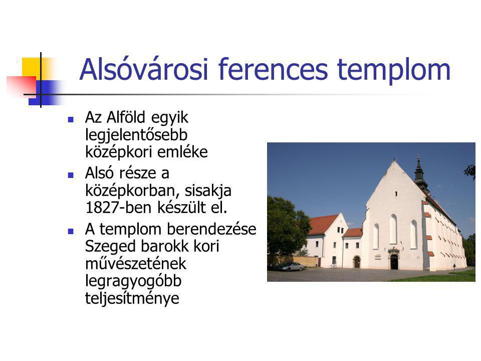 Alsóvárosi ferences templom