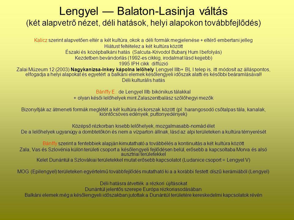 Lengyel — Balaton-Lasinja váltás
