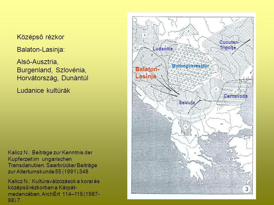 Alsó-Ausztria, Burgenland, Szlovénia, Horvátország, Dunántúl