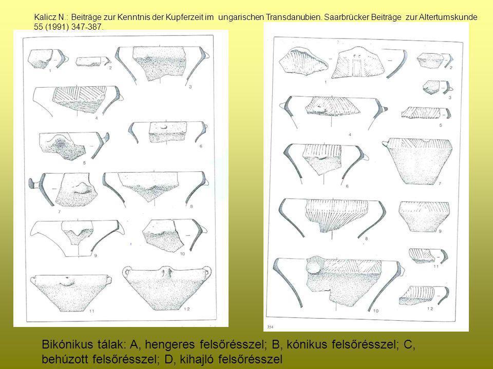 Kalicz N.: Beiträge zur Kenntnis der Kupferzeit im ungarischen Transdanubien. Saarbrücker Beiträge zur Altertumskunde 55 (1991) 347-387.