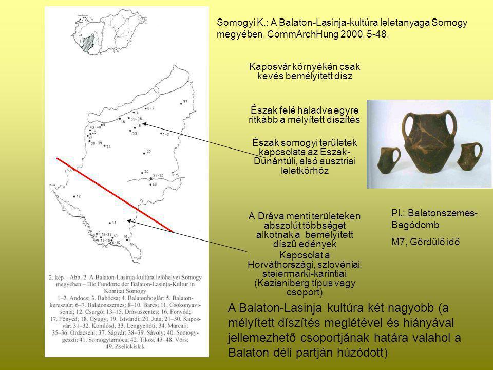 Somogyi K. : A Balaton-Lasinja-kultúra leletanyaga Somogy megyében