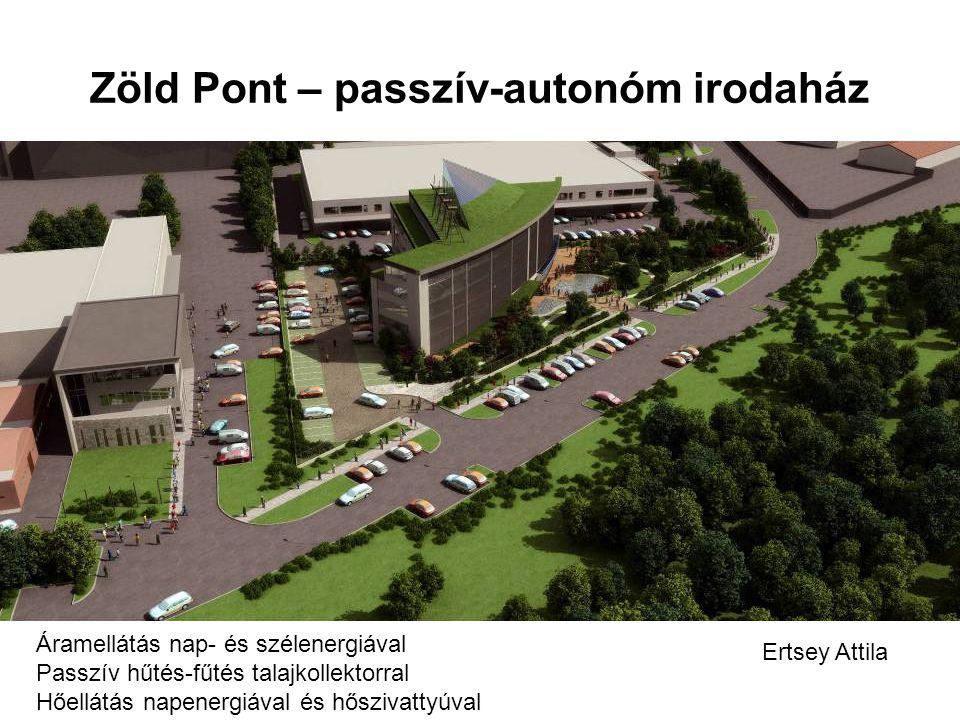 Zöld Pont – passzív-autonóm irodaház