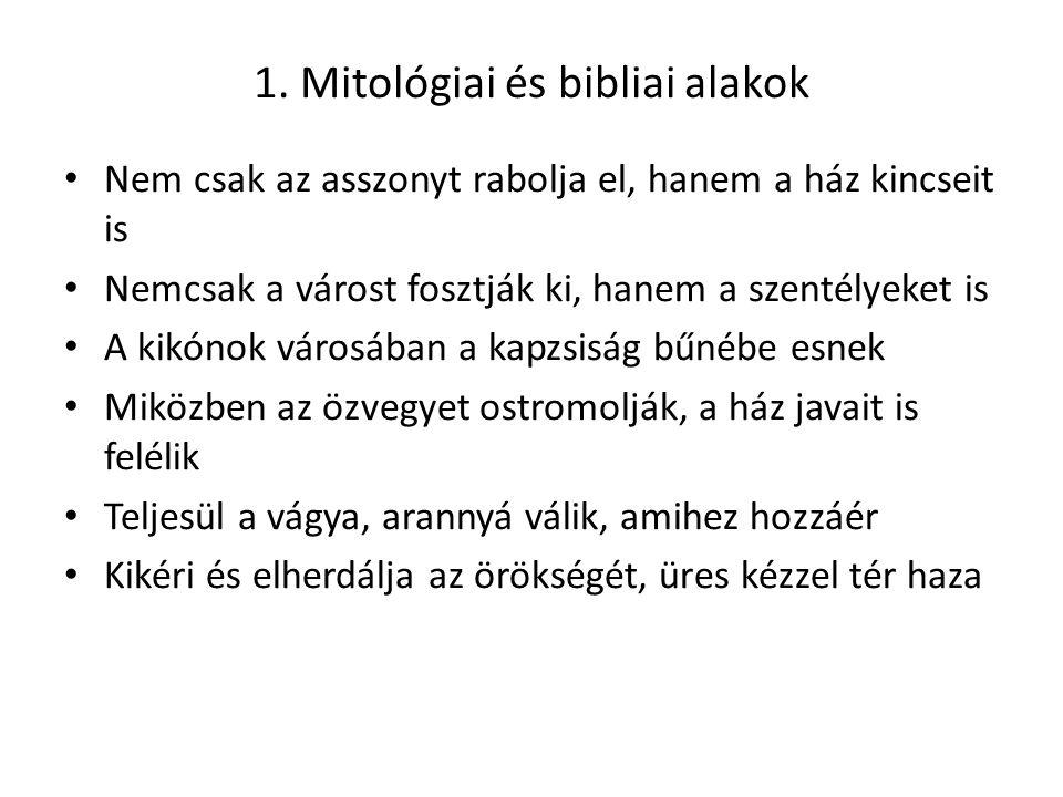1. Mitológiai és bibliai alakok