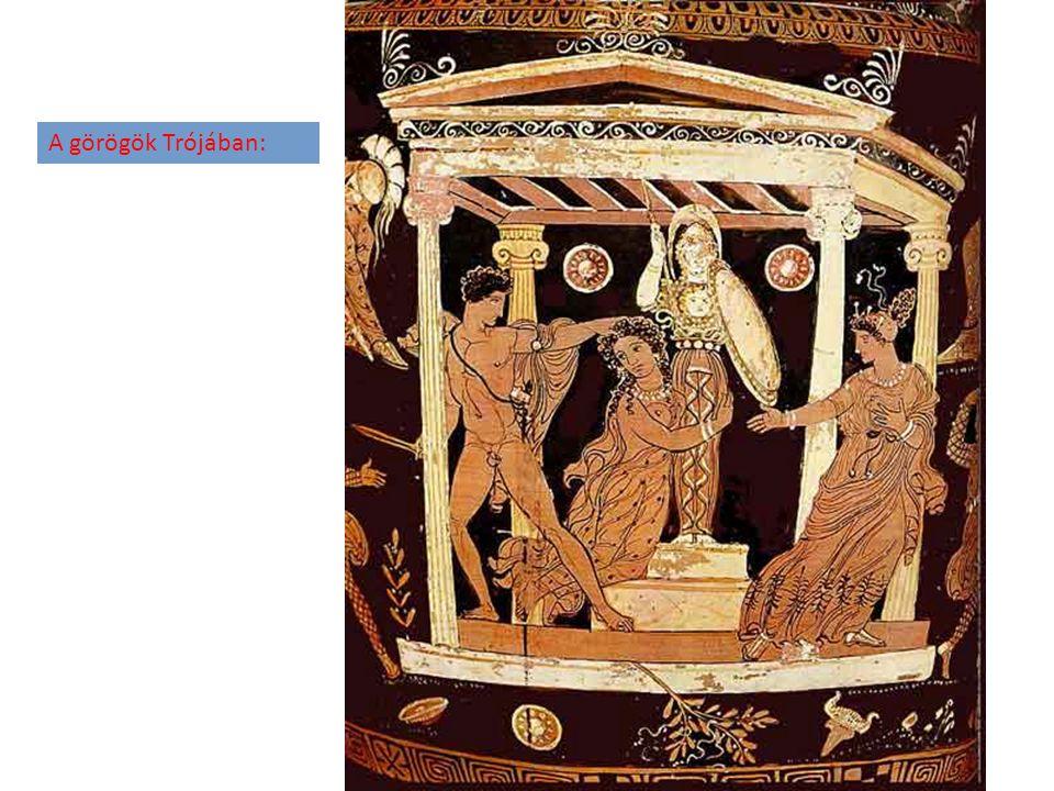 A görögök Trójában: