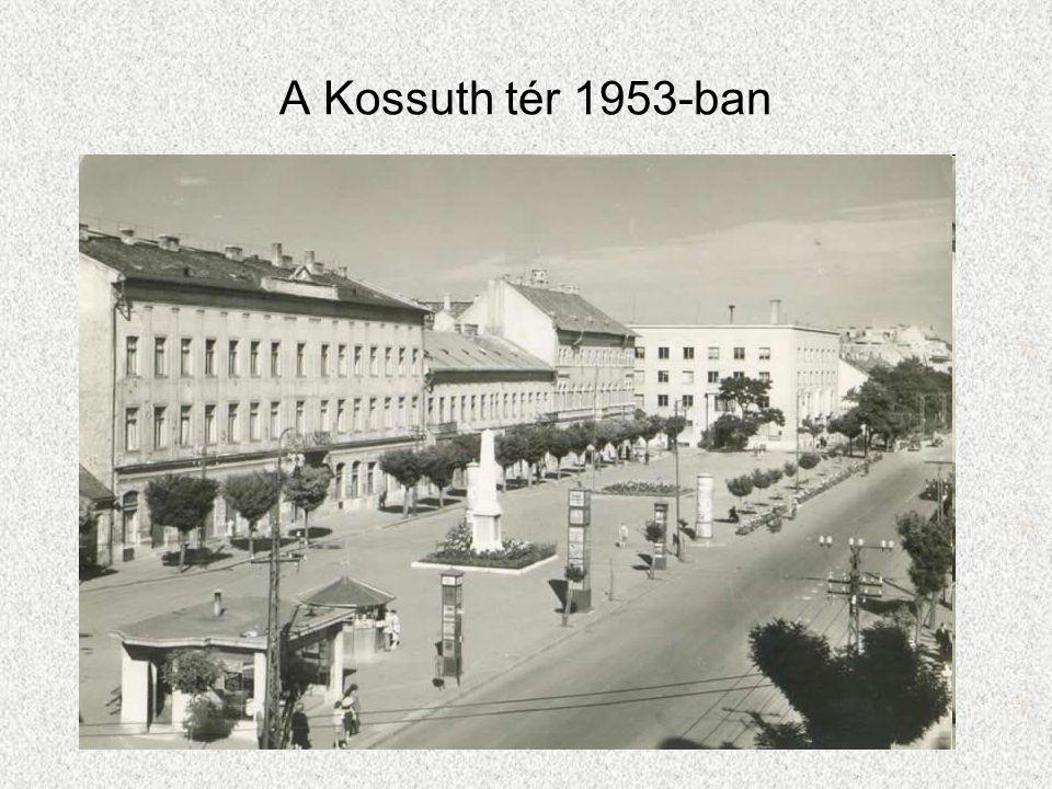 A Kossuth tér 1953-ban
