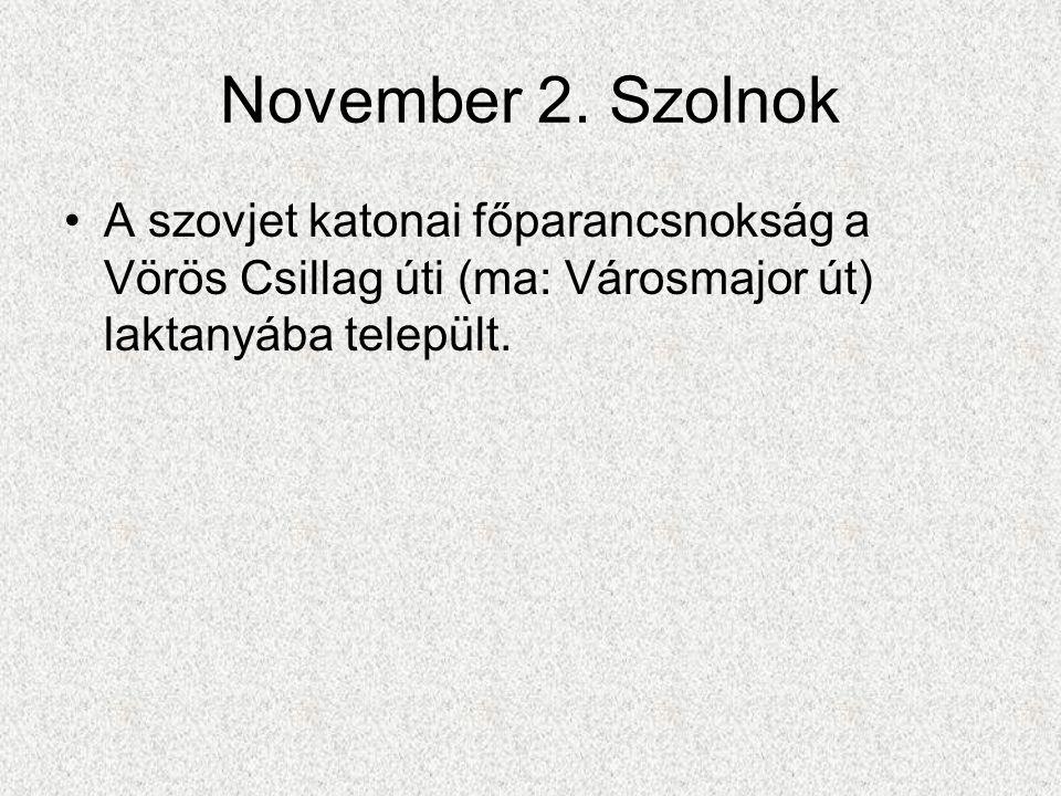 November 2.
