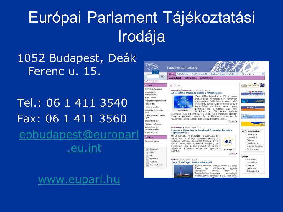 Európai Parlament Tájékoztatási Irodája