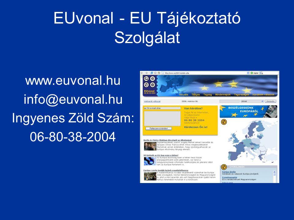 EUvonal - EU Tájékoztató Szolgálat