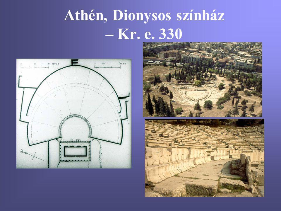 Athén, Dionysos színház – Kr. e. 330