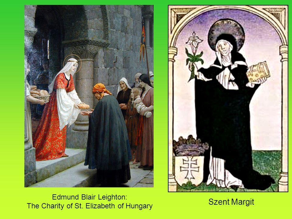 Szent Margit Edmund Blair Leighton: