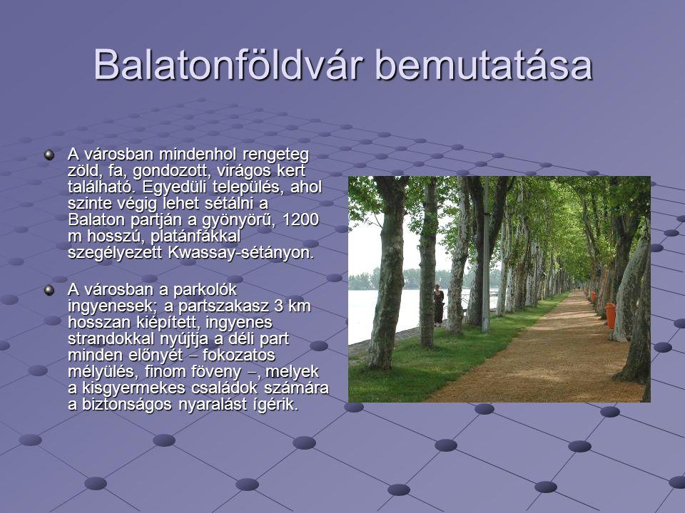 Balatonföldvár bemutatása