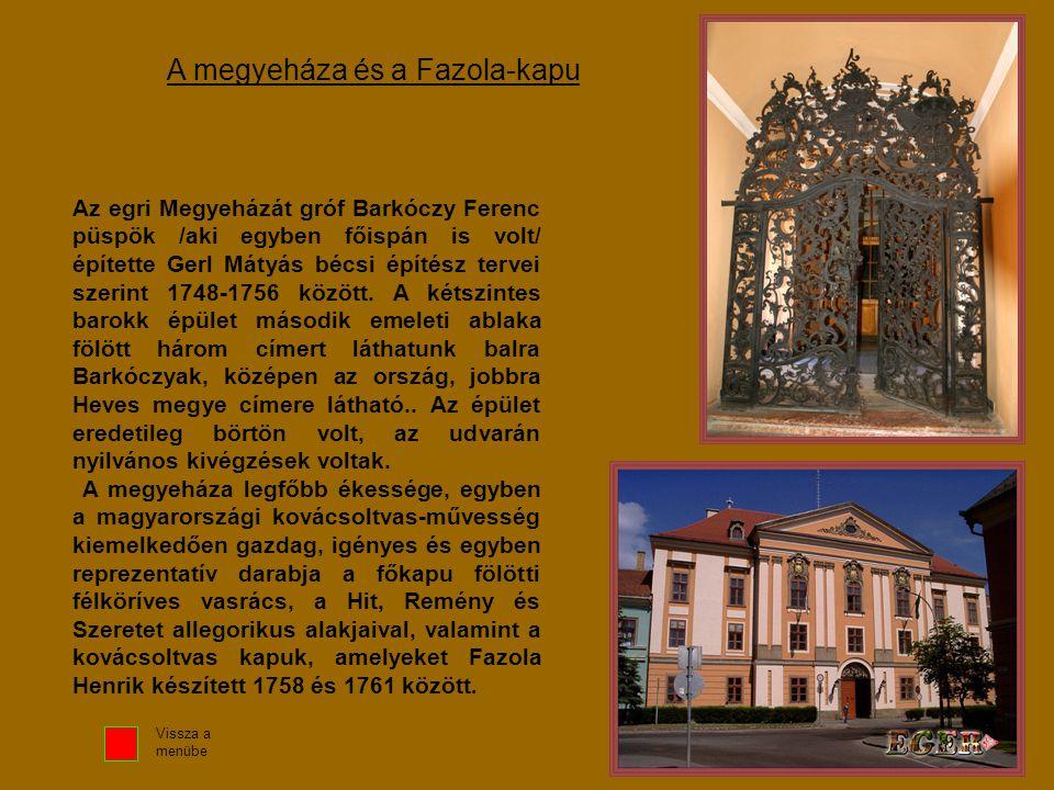 A megyeháza és a Fazola-kapu