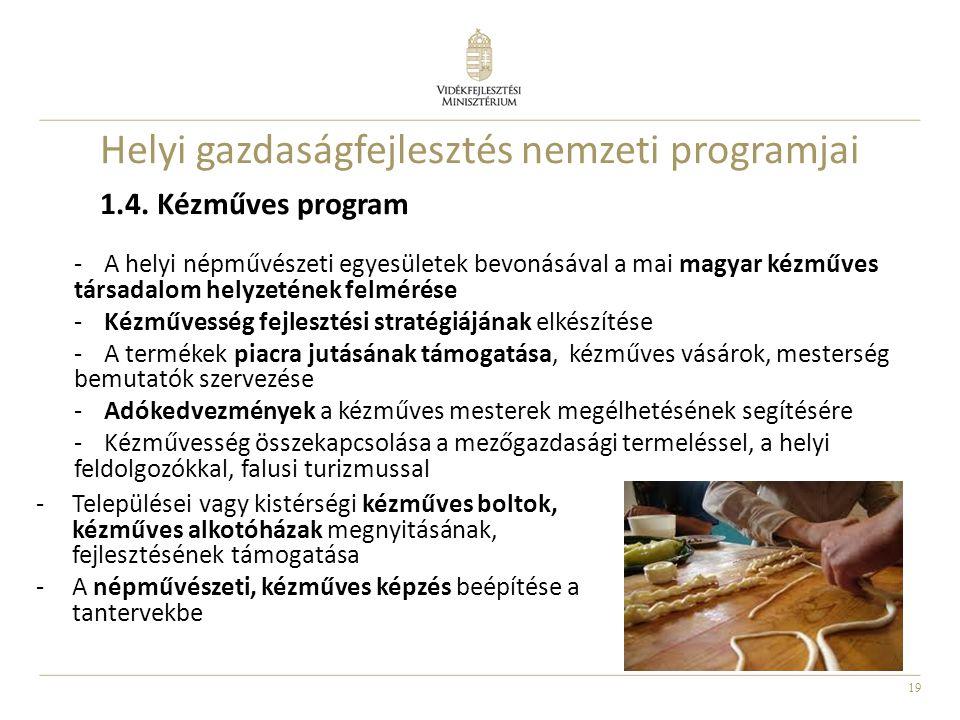 Helyi gazdaságfejlesztés nemzeti programjai