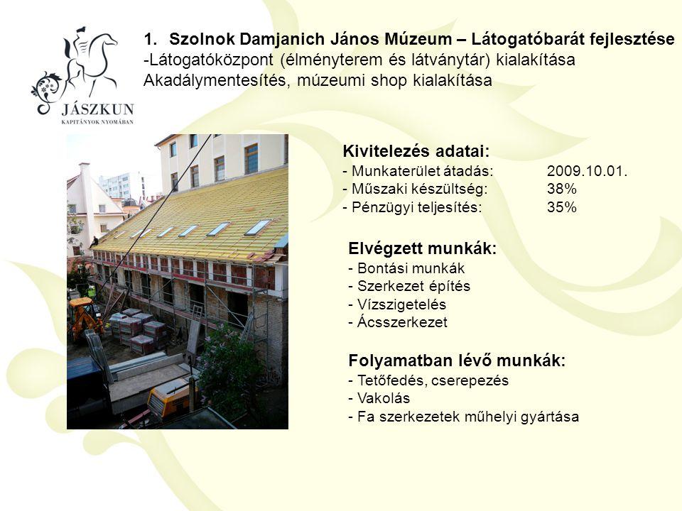 Szolnok Damjanich János Múzeum – Látogatóbarát fejlesztése