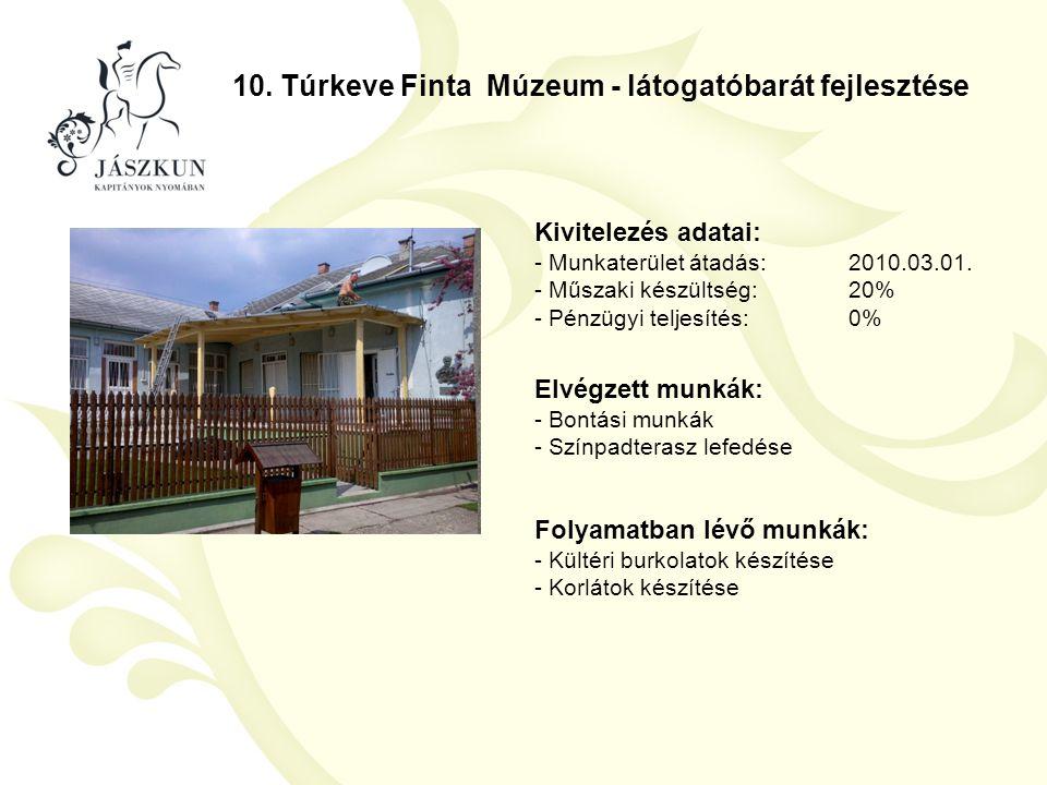 10. Túrkeve Finta Múzeum - látogatóbarát fejlesztése