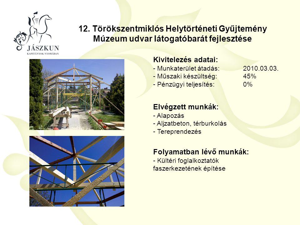 12. Törökszentmiklós Helytörténeti Gyűjtemény