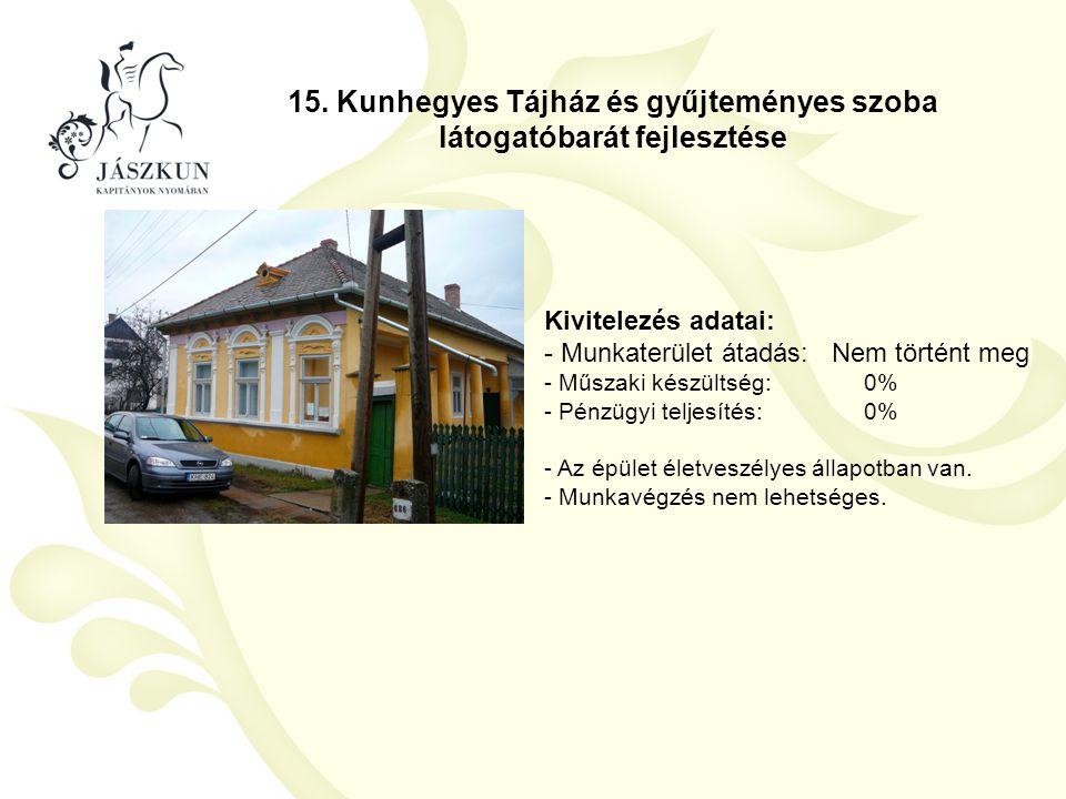 15. Kunhegyes Tájház és gyűjteményes szoba