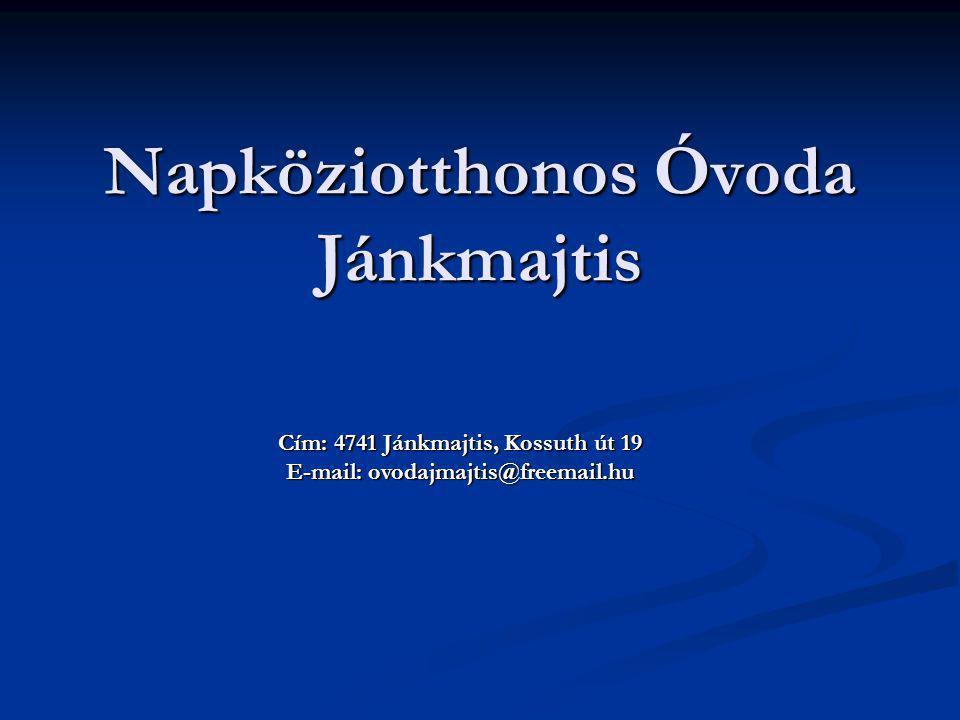 Napköziotthonos Óvoda Jánkmajtis