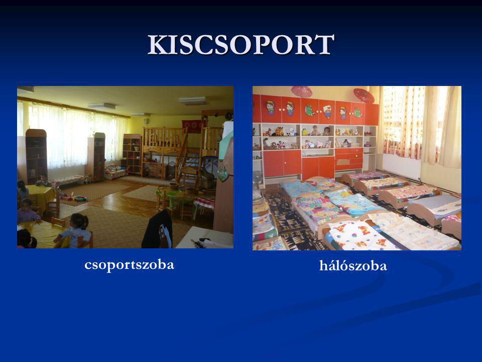 KISCSOPORT csoportszoba hálószoba