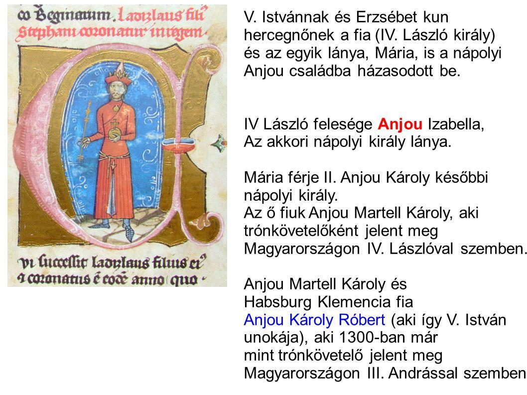 V. Istvánnak és Erzsébet kun
