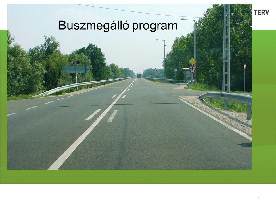 Buszmegálló program
