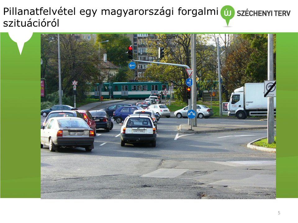 Pillanatfelvétel egy magyarországi forgalmi szituációról