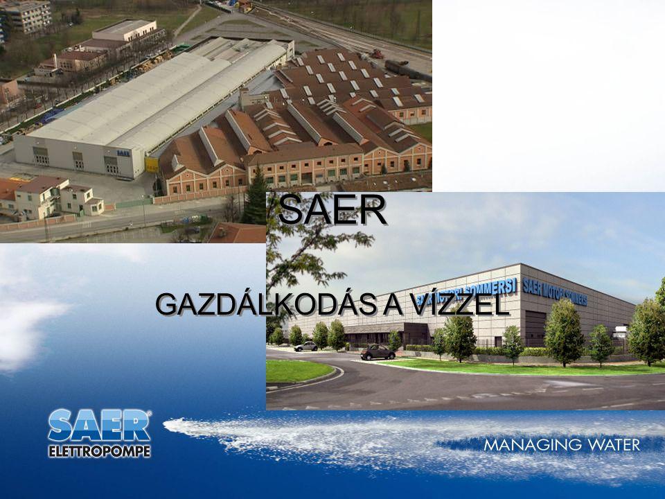 SAER GAZDÁLKODÁS A VÍZZEL