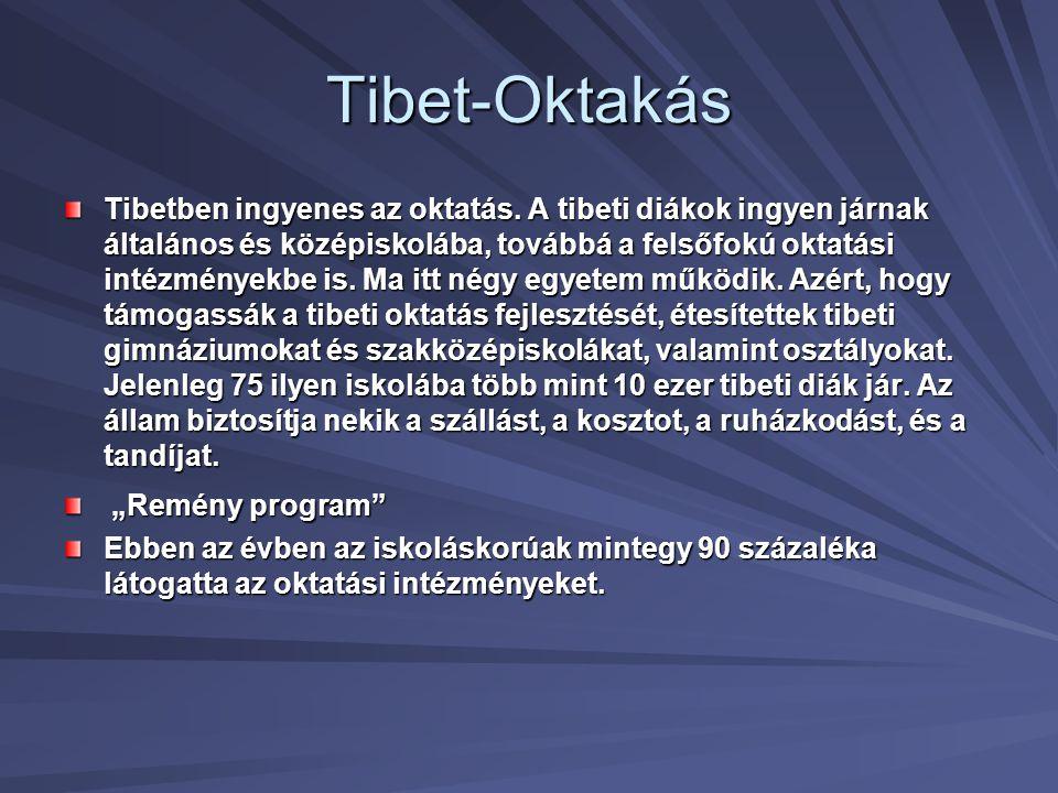 Tibet-Oktakás
