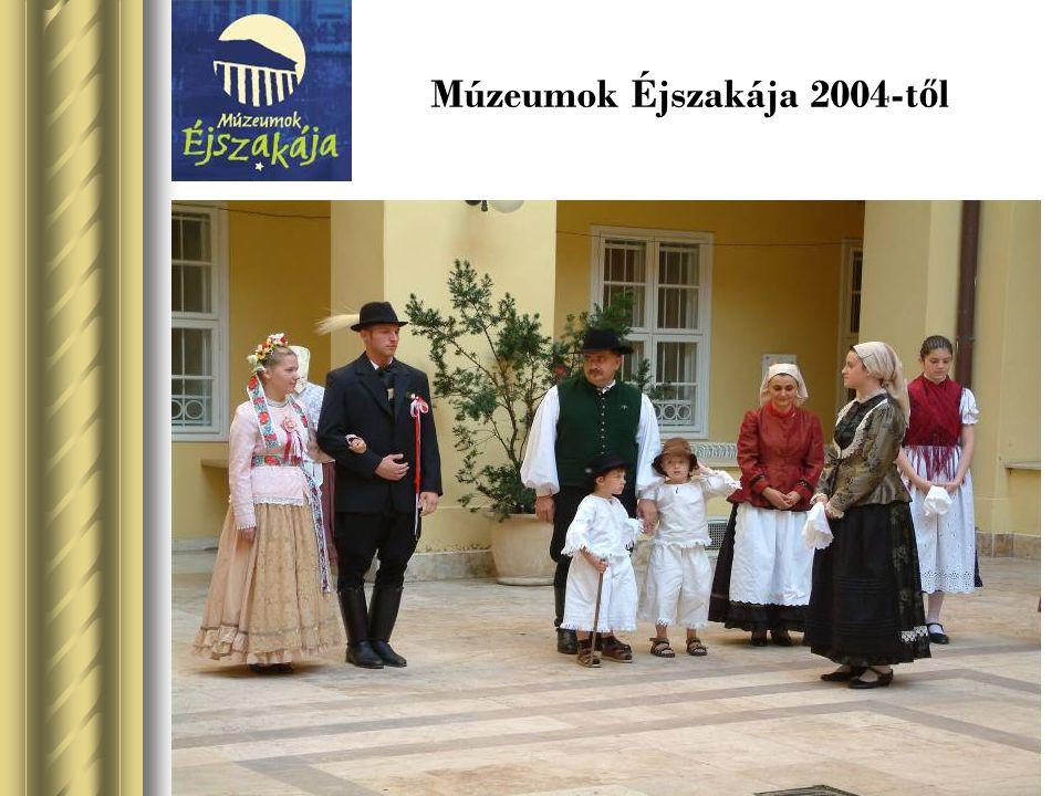 Múzeumok Éjszakája 2004-től