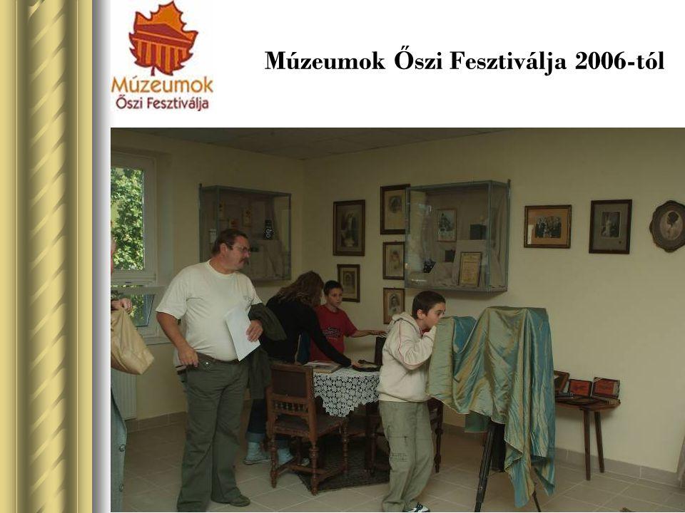 Múzeumok Őszi Fesztiválja 2006-tól