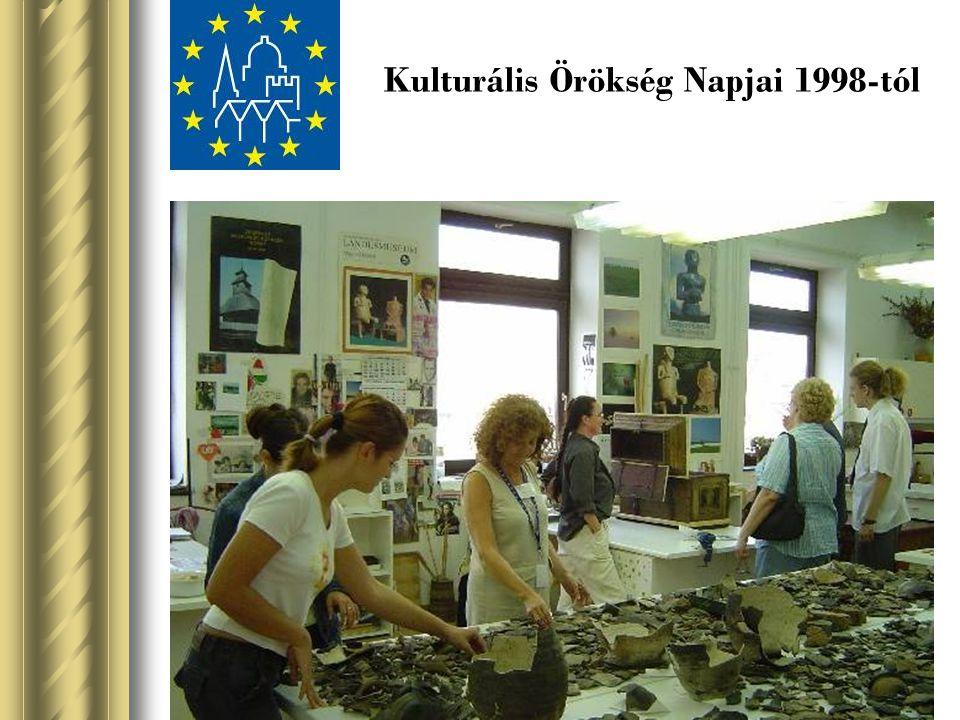 Kulturális Örökség Napjai 1998-tól