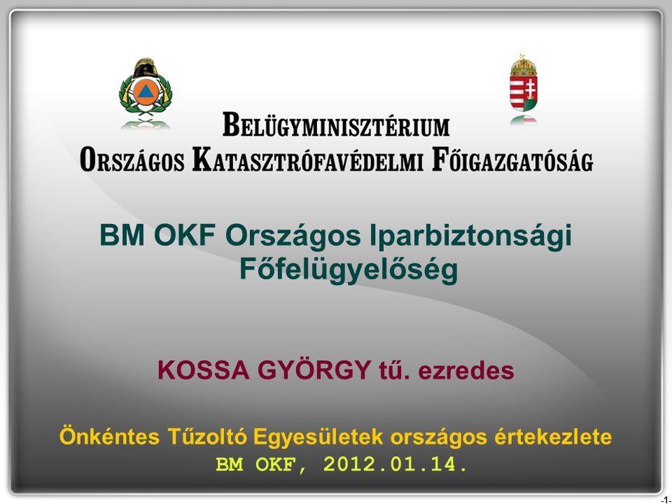 BM OKF Országos Iparbiztonsági Főfelügyelőség