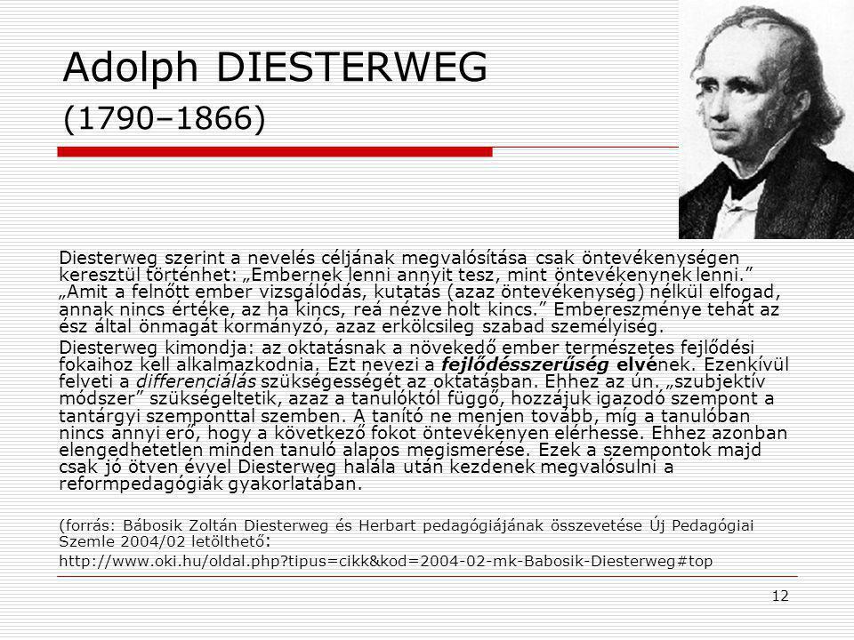 Adolph DIESTERWEG (1790–1866)