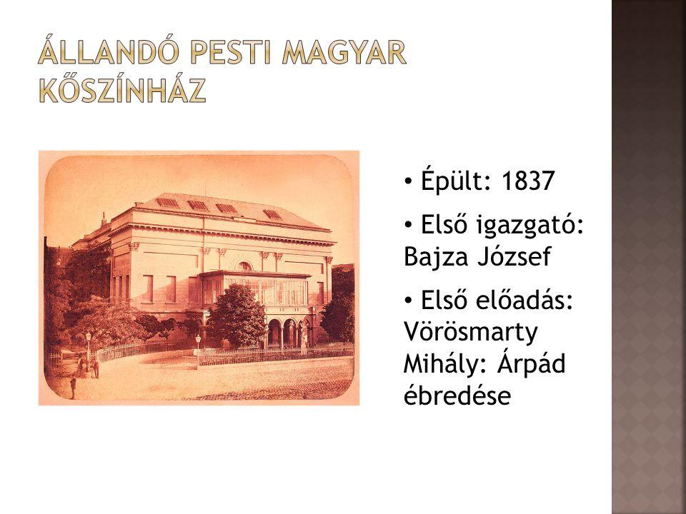 Állandó Pesti magyar Kőszínház