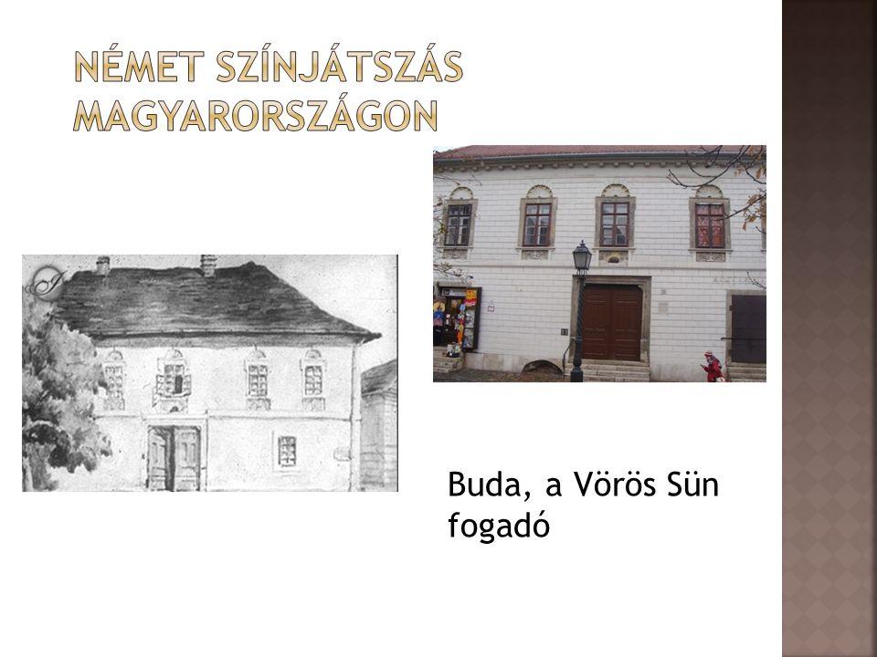 Német színjátszás Magyarországon